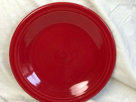 "Homer Laughlin Red Fiesta Ceramic 10.5"" Dinner Plate - $14.01"