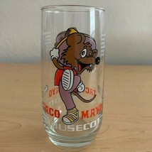 "Vintage Coca-Cola Taco Mayo ""Mousecot"" Promotional Glass - $8.91"