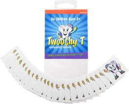 Twooth Timer The Company 82880 Twoothy T Temporary Tattoos-Pack of-4 - $8.82