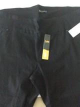 NWT Lee Womens Black Size 22 W Slimming Fit Capri Pants - $18.69