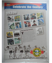 1920s CELEBRATE THE CENTURY COMMEMORATIVE STAMP SERIES ) *3. 1920 -  - $9.61