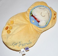 Manhattan Toy Baby Boy Lil Peanut Snuggle Pod Blue Doll Sleep Sack - $8.59