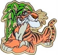 Disney Shere Khan tiger Jungle Book Lanyard pin/pins - $24.18