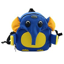 Blue Elephant Toddler Backpack Infant Lovely Knapsack Cute Baby Bag 1-4Y