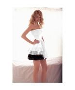 Dresses Women's Sweet Pleated Strapless Princess Dress White - $34.99