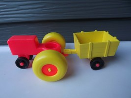 Fisher Price Little People Play Family Farm Tractor and Wagon - $11.29