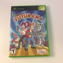 Futurama (Microsoft Xbox, 2003) NTSC Complete w/ Manual - $84.14
