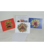 Natural Beauty Frameable 5X7 Christmas Card 3 Designs Package 6 - $14.95