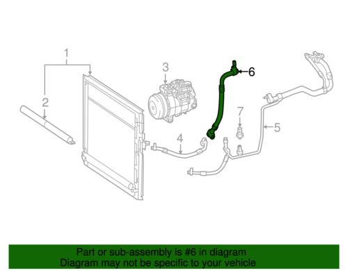 Genuine Mercedes-Benz Press Line Assembly 166-830-69-00