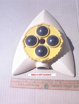 MELNOR type Star Trek Look 4 Brass Head Turret Lawn Sprinkler RETRO Cool - $9.99