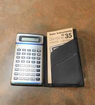 Texas Instruments TI 35 Scientific Calculator Constant Memory - €26,75 EUR