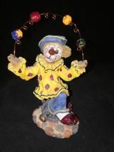 Boyds Bears Bearstone Gizmoe...Life's a Juggling Clown on Unicycle Figurine - $14.99