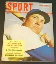 1954 Sept. SPORT Magazine Duke Snider Brooklyn Dodgers Cover VG - $9.89