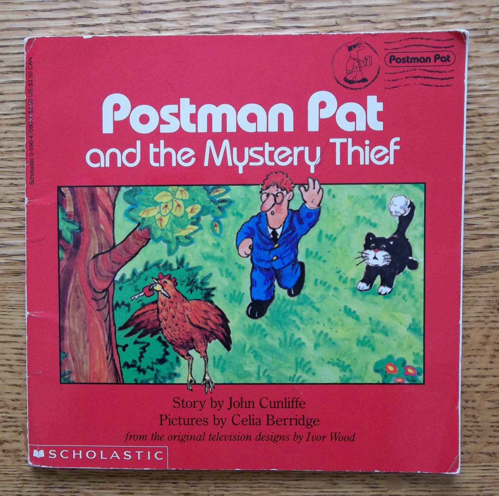 Postman Pat and the Mystery Thief Paperback Scholastic Book
