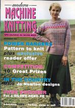 Modern Machine Knitting Nov 1995 Magazine More Jo Newton Designs and more - $9.99