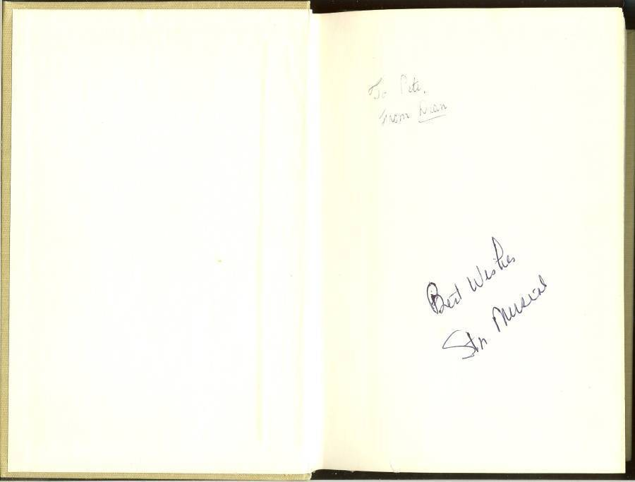 stan musial the man's own story autograph signed book first edition 1964
