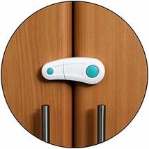 Safe-O-Kid- Pack of 8, Durable, Elegant Child Safety Cabinet Lock - Blue - $38.22
