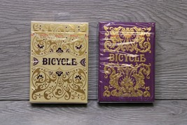 Bicycle Playing Cards Set Of 2 Jubilee And Majesty Decks Brand New Unopened - $29.65