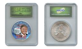 DONALD TRUMP 45th PRESIDENT 2016 1 oz American .999 Silver Eagle SPECIAL... - $49.45