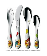 WMF 1283506040 Children's Cutlery Set Disney Winnie the Pooh 4 Pieces  - $53.00