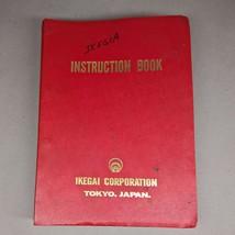 Ikegai Instruction Programming Manual FX25Z FX10Z FX20Z AX15Z AX20Z AX25... - $95.00