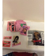 Michael Jackson 4 Gum Wrappers & 5 Wrappers 15 Cards 15 Sticker 1984 Top... - $12.95