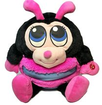 Mushabelly Adorables RARE Lady Bug Big Eyes Chatter Plush Pink Jay At Pl... - $75.00
