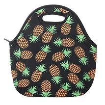 Aiphamy Pineapple Neoprene Lunch Bag Insulated Lunch Box Tote for Women Men Adul - $14.79