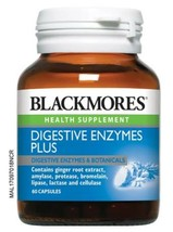 BLACKMORES Digestive Enzymes Plus 60's-Aid the body's natural digestive ... - $36.62