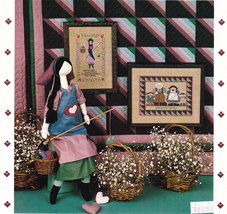 Cross Stitch Gentle People Doll Making And Quilting - $7.50