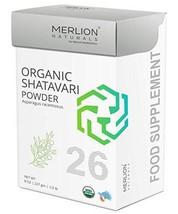 Merlion Naturals Organic Shatavari Root Powder, Asparagus racemosus, 227... - $15.31