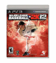 Major League Baseball 2K12 (Sony PlayStation 3, 2012) PS3 - $11.76