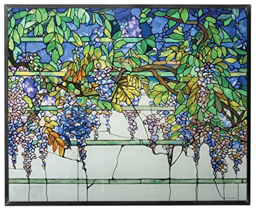 Primary image for YTC Tiffany Wisteria Stained Glass