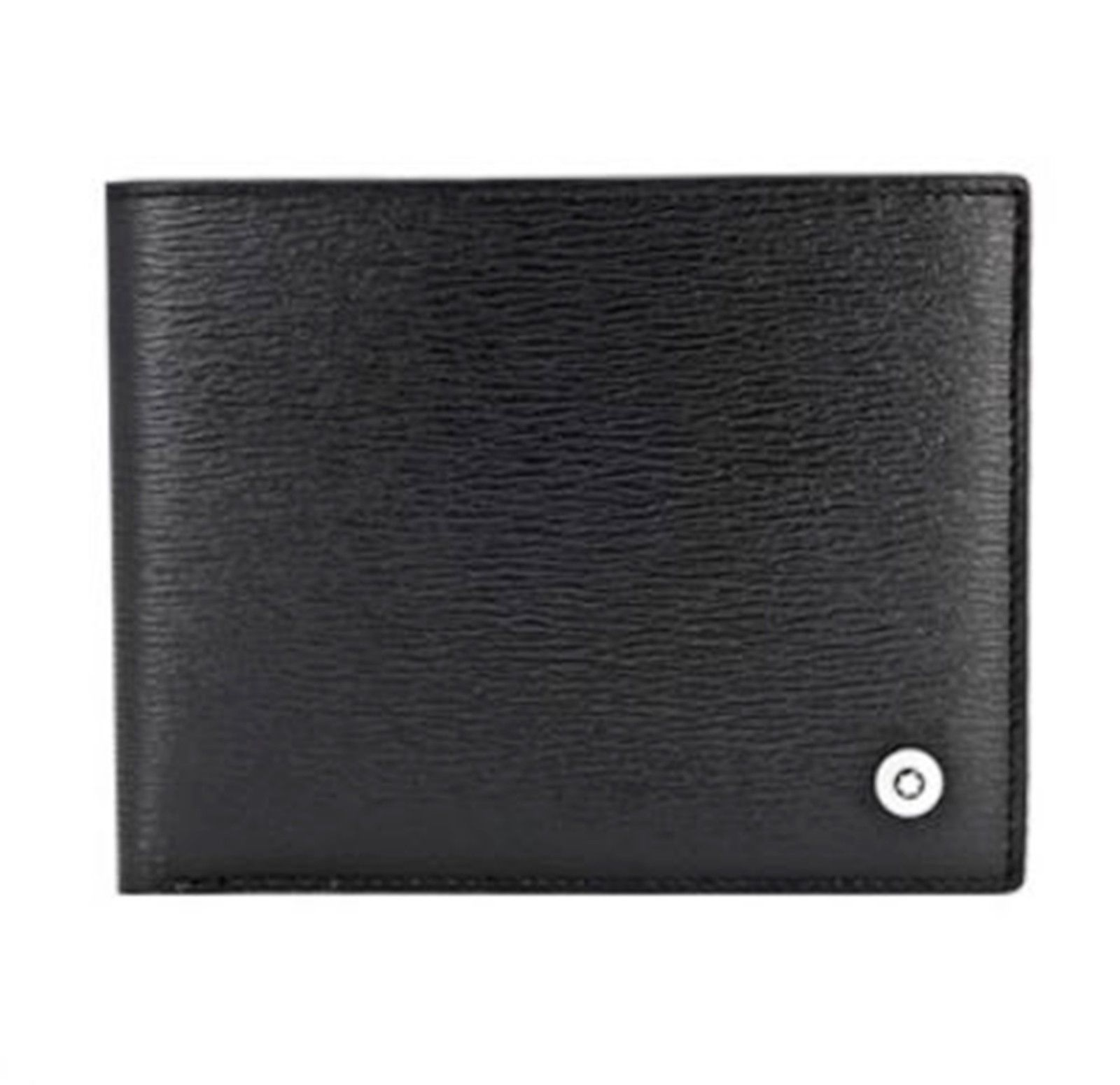 [MONT BLANC] Men's Leather Half Wallet 6cc 38036