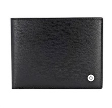 [MONT BLANC] Men's Leather Half Wallet 6cc 38036 image 1