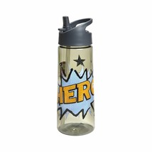 """NEW Cat & Jack Kids' 21.5oz Tritan Water Bottle """"Hero"""" Graphic 52176621"""