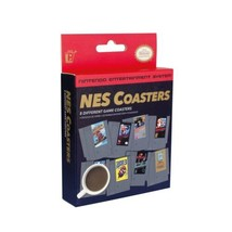 Nintendo Entertainment System Set of 8 Different Game Cartridge Coasters BOXED - $5.48