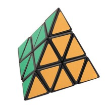 OCDAY Pyramid Triangle Speed Magic Cube Puzzle Toy Block Magic Game Educ... - $5.89