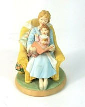Hallmark Spoonful of Stars figurine  Love Like no Other Reading teaching 1998 - $16.44