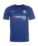 Nike 2017/18 Chelsea Soccer Breathe Jersey Blue White Red Size M - $64.35
