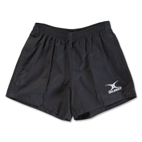 Gilbert Kiwi Pro Rugby Short (Black, Small)