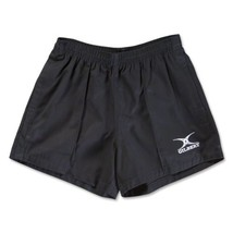 Gilbert Kiwi Pro Rugby Short (Black, Small) image 1