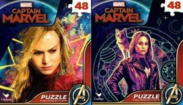 Marvel Captain Marvel - 48 Pieces Jigsaw Puzzle - v1 (Set of 2) - $15.83