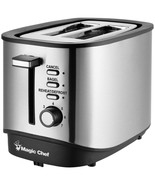Magic Chef MCST2SS 2-Slice Toaster - $52.33