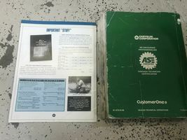 1998 JEEP WRANGLER Service Workshop Shop Repair Manual Set W Extra OEM image 5