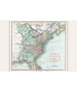 Map of United States East of the Mississippi; Antique Map by Cary, 1806 - $26.72+