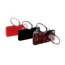 Reading Glasses Mini Clip On Nose Resting Presbyopic Farsighted Reading ... - $6.76