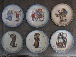 HUMMEL SCHMID Lot of 6 Plates 1971, 72, 73, 76, 78 West Germany No Boxes... - $29.95