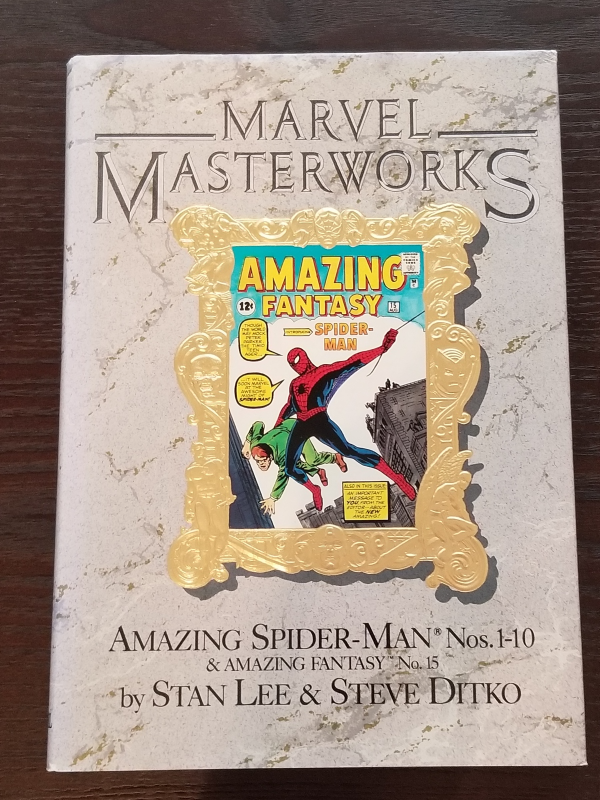 Marvel Masterworks Vol 1 The Amazing Spider-man 1-10 (& Amazing Fantasy 15)