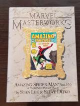 Marvel Masterworks Vol 1 The Amazing Spider-man 1-10 (& Amazing Fantasy 15) - $25.00